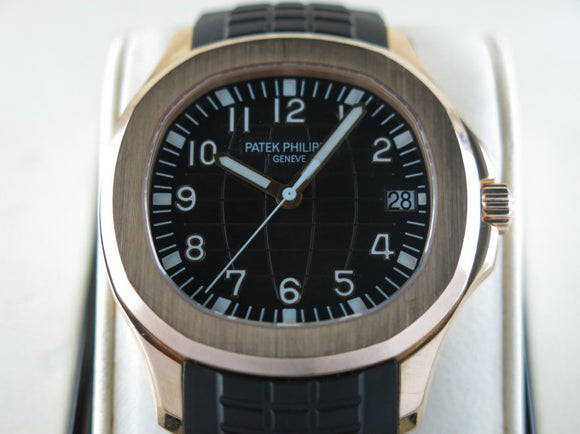Patek Philippe Aquanaut 18 ct. Rose Gold 5167