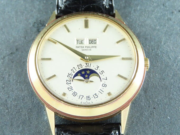 Patek Philippe Perpetual Calendar 18 ct. Yellow Gold 3448