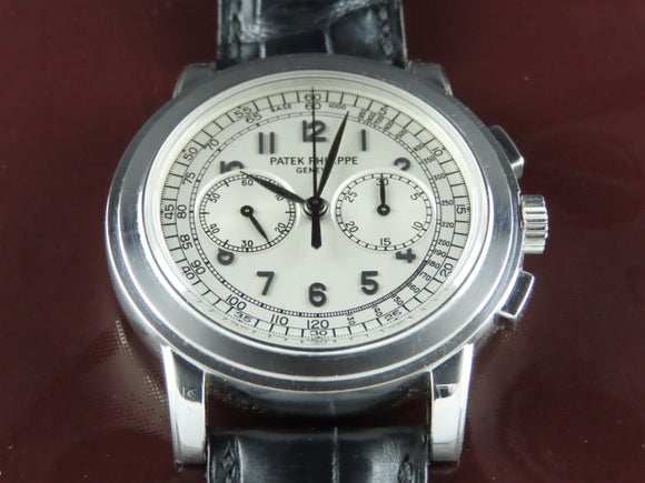 Patek Philippe Chronograph Complications 18 ct. White Gold 42 mm 5070 February 2005