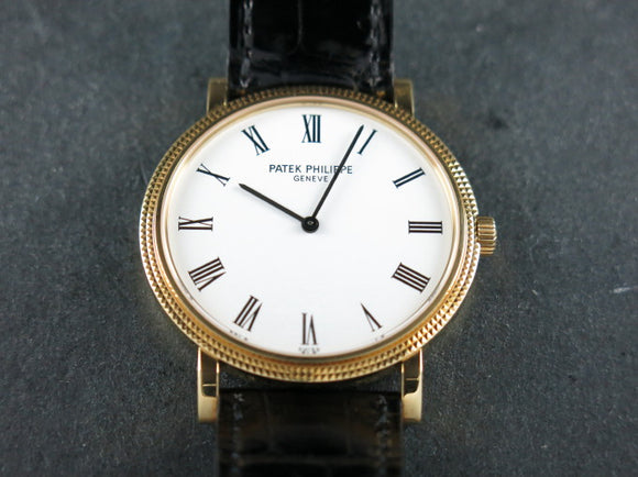Patek Philippe Calatrava Automatic Micro Rotor 18 ct. Yellow Gold 5120