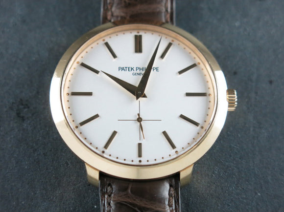 Patek Philippe Calatrava 18 ct. Rose Gold 5123