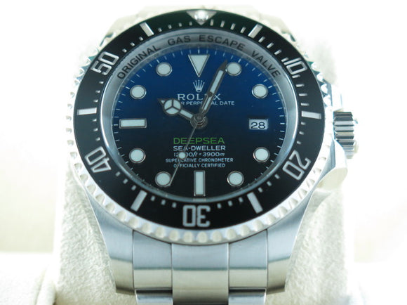 Rolex Deepsea Sea Dweller D-Blue James Cameron Edition