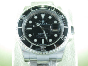 "Rolex Submariner Date Ceramic Bezel ""Alphanumeric"" Series 116610LN"