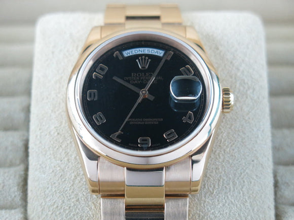 Rolex Day Date 18 ct. Rose Gold 36 mm