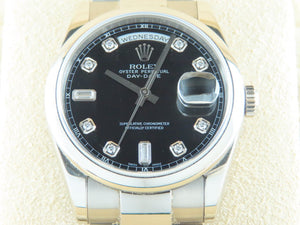 Rolex Day Date 18 ct. White Gold 36 mm 118209