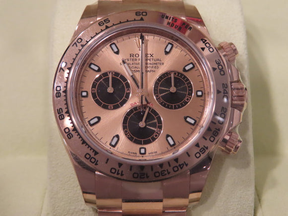 Rolex Daytona 18 ct. Rose Gold Everose 116505