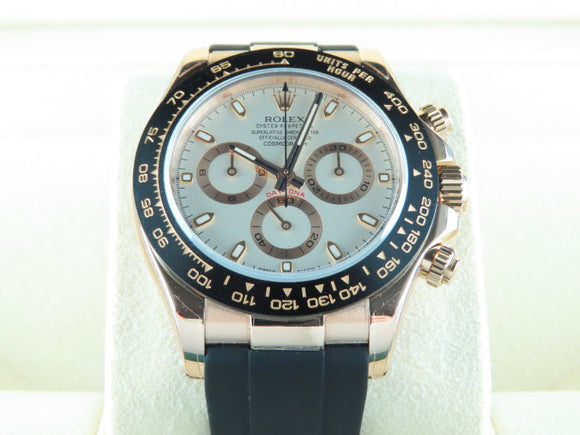 Rolex Daytona Ceramic Bezel 18 ct. Rose Gold Everose 116515