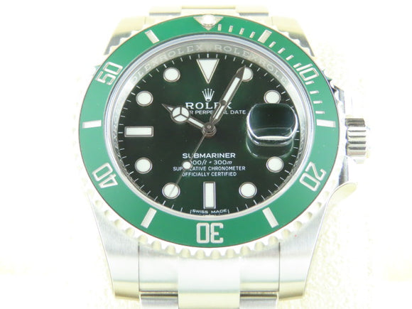 Rolex Submariner Date Ceramic Bezel Green Dial Hulk