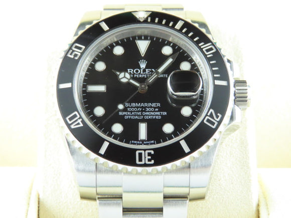 Rolex Submariner Date Ceramic Bezel 116610 December 2017