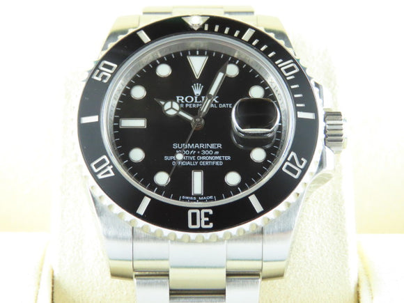 Rolex Submariner Date Ceramic Bezel 116610 October 2016