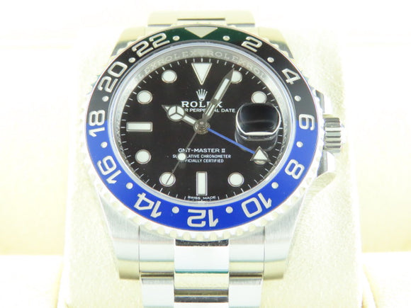 Rolex GMT Master II Ceramic Bezel Batman
