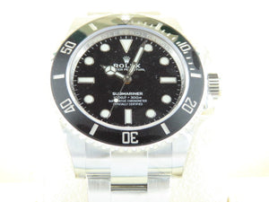 Rolex Submariner No Date 41 mm Ceramic Bezel 124060