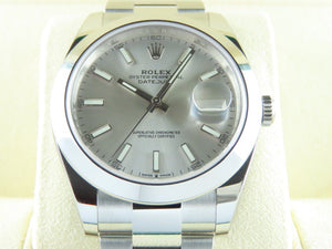 Rolex Datejust 41 mm Silver Dial 126300