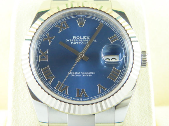 Rolex Datejust 41 mm Blue Dial 126334
