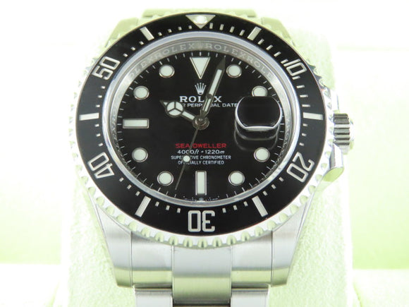 Rolex Sea Dweller Red 50th Anniversary 43 mm 126600 October 2019