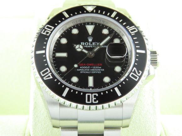 Rolex Sea Dweller Red 50th Anniversary 43 mm 126600 New Full Stickers