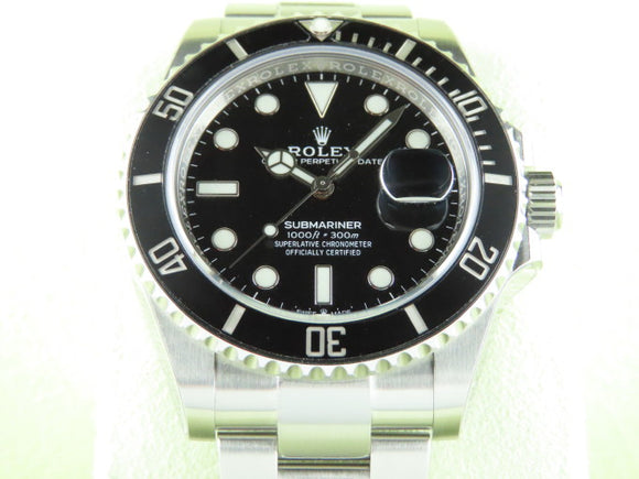 Rolex Submariner Date 41 mm Ceramic Bezel 126610 January 2021