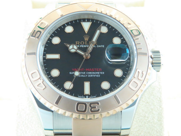 Rolex Yacht Master 40 mm 18 ct. Rose Gold / Stainless Steel 126621