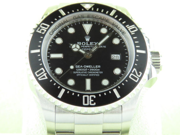 Rolex Deepsea Sea Dweller 44 mm 126660 July 2019