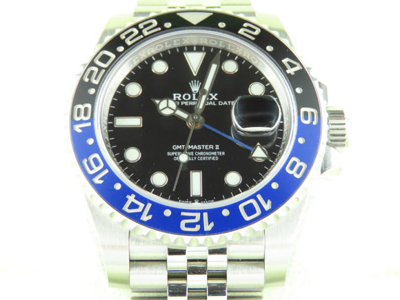 Rolex GMT Master II Ceramic Bezel Batgirl 126710 July 2019