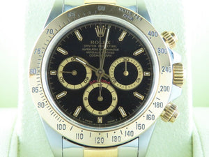 "Rolex Daytona Zenith 18 ct. Yellow Gold / Stainless Steel ""S"" Series 16523"