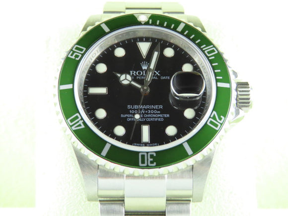 Rolex Submariner Green Bezel 50th Anniversary Kermit