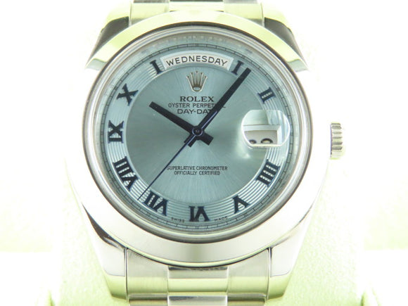 Rolex Day Date II President Platinum 41 mm 218206 2009