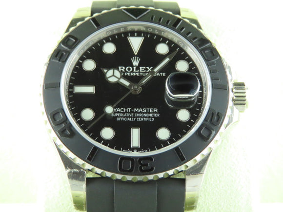 Rolex Yacht Master 42 mm 18 ct. White Gold 226659 October 2019