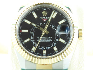 Rolex Sky Dweller 18 ct. Yellow Gold / Stainless Steel 326933