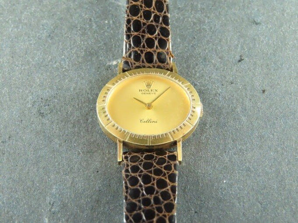 Rolex Cellini Manual Winding 18 ct. Yellow Gold Neo Vintage 4081