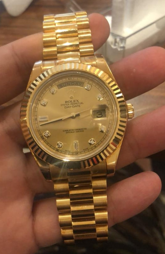 Rolex Day Date II 18 ct. Yellow Gold