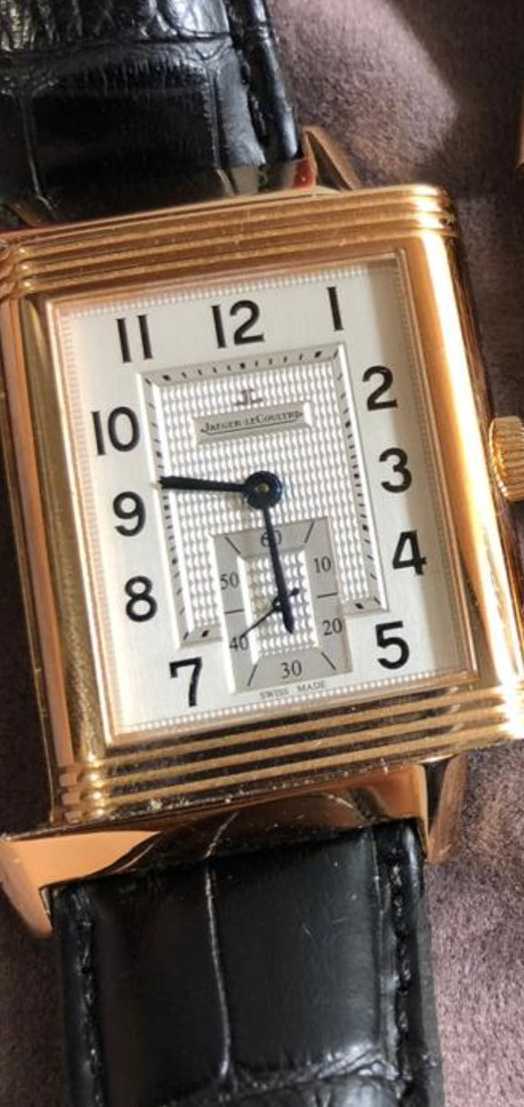 Jaeger Le Coutre Reverso Grande 18 ct. Rose Gold