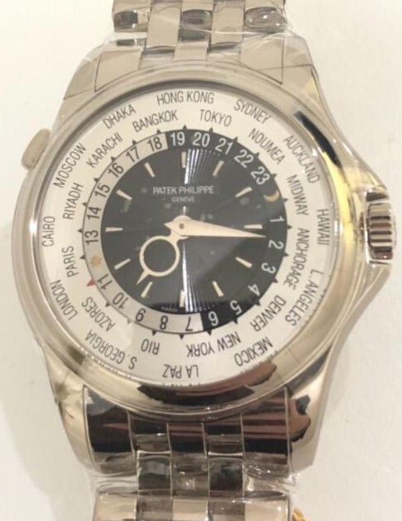 Patek Philippe World Time 18 ct. White Gold