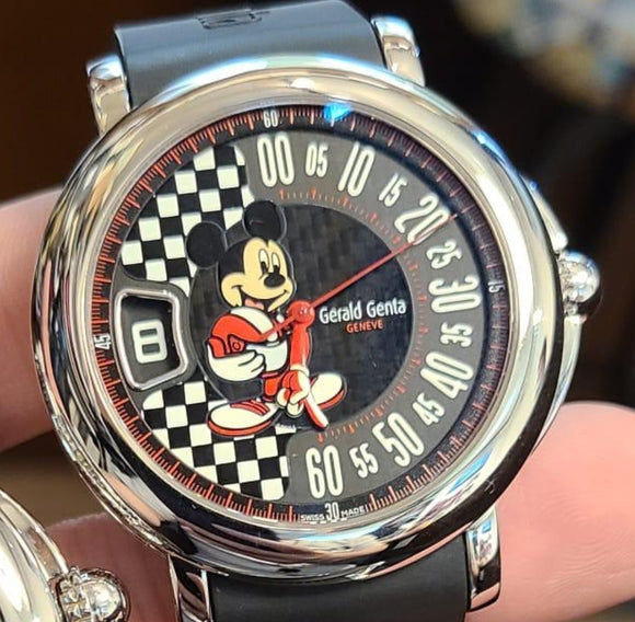 Gerald Genta Arena Sport Fantasy Retro Mickey Mouse 41 mm 2015