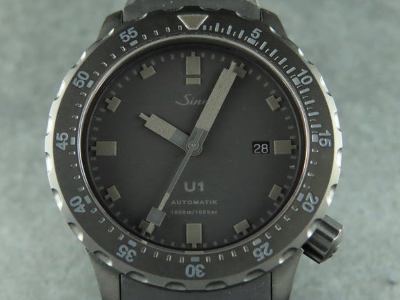 Sinn U1 Black The Hour Glass Limited Edition