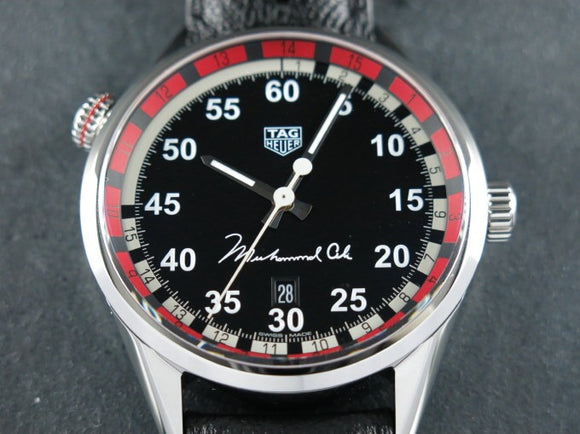 Tag Heuer Carrera Calibre 5 Ring Master Special Limited Edition to Muhammad Ali New Old Stock