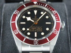 Tudor Black Bay Arabic State of Qatar Limited Edition