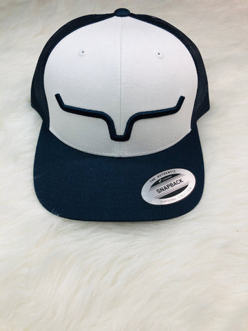 Kimes Ranch Weekly Trucker Reverse Navy/White