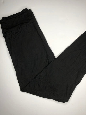 tall or curvy soft black leggings