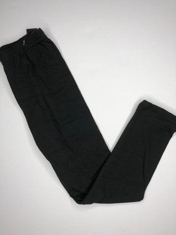 kids s/m soft black leggings