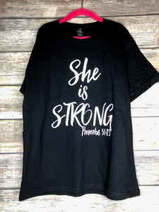 She is Strong youth tee