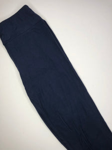 navy buttery soft one size leggings
