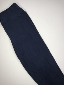 navy buttery soft tall or curvy leggings