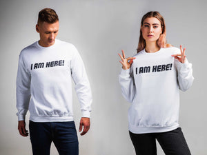 Unisex Sweatshirt, My hero academia, I Am Here