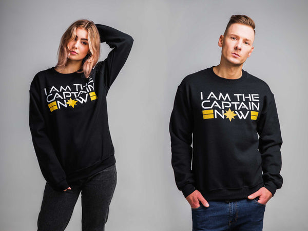 I Am The Captain Now ,Unisex Sweatshirt