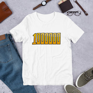 1000000, Mirio, My Hero Academia, Short-Sleeve Unisex T-Shirt