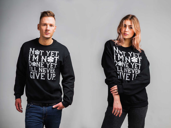 Black clover, Asta, I'm Not Done Yet, Unisex Sweatshirt