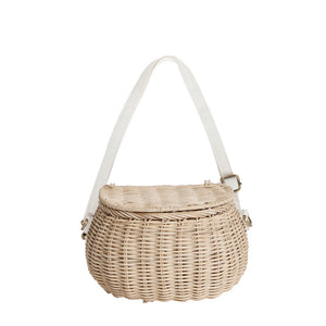 Mini Chari Bag- Straw