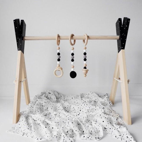 Wooden Activity Gym- Dreamy