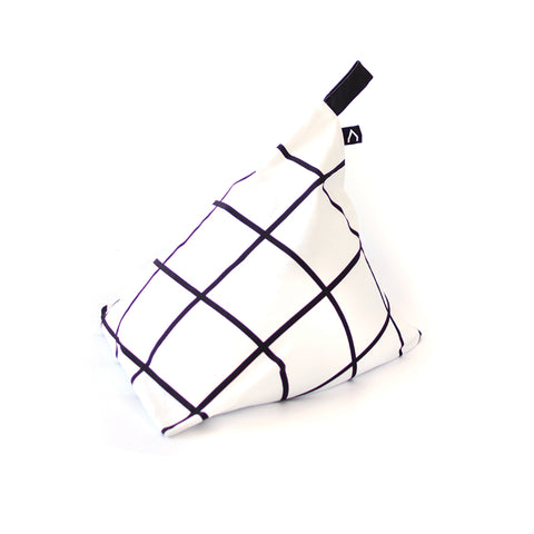Fiesta Bean Bag - Black and White